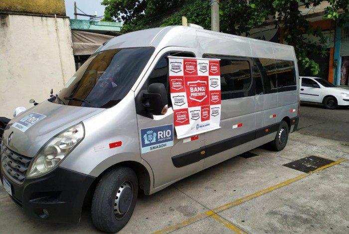 Van da Prefeitura do Rio é recuperada em Bangu