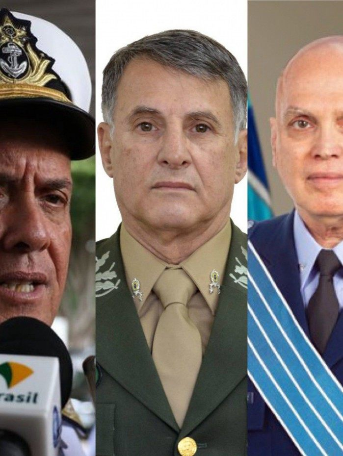 Três comandantes das Forças Armadas anunciam saída nesta terça-feira