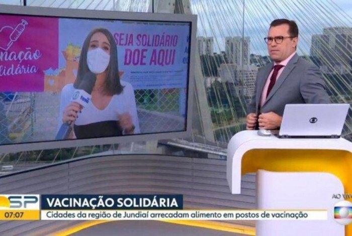 Fernanda Elnour e Rodrigo Bocardi