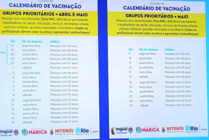 Calendário de vacinação compreende outros grupos prioritários