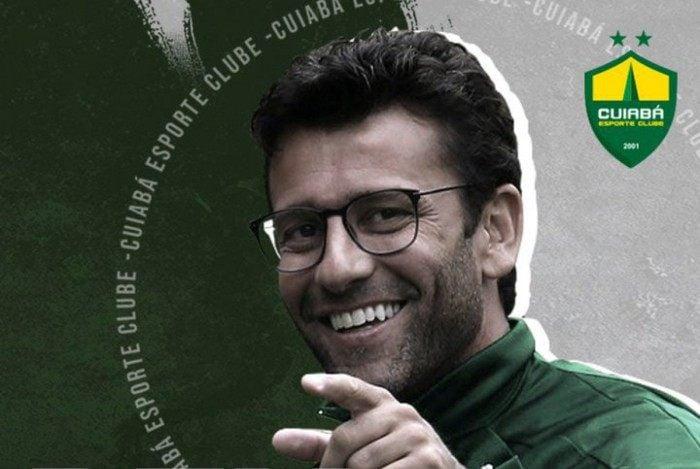 Alberto Valentim é o novo técnico do Cuiabá