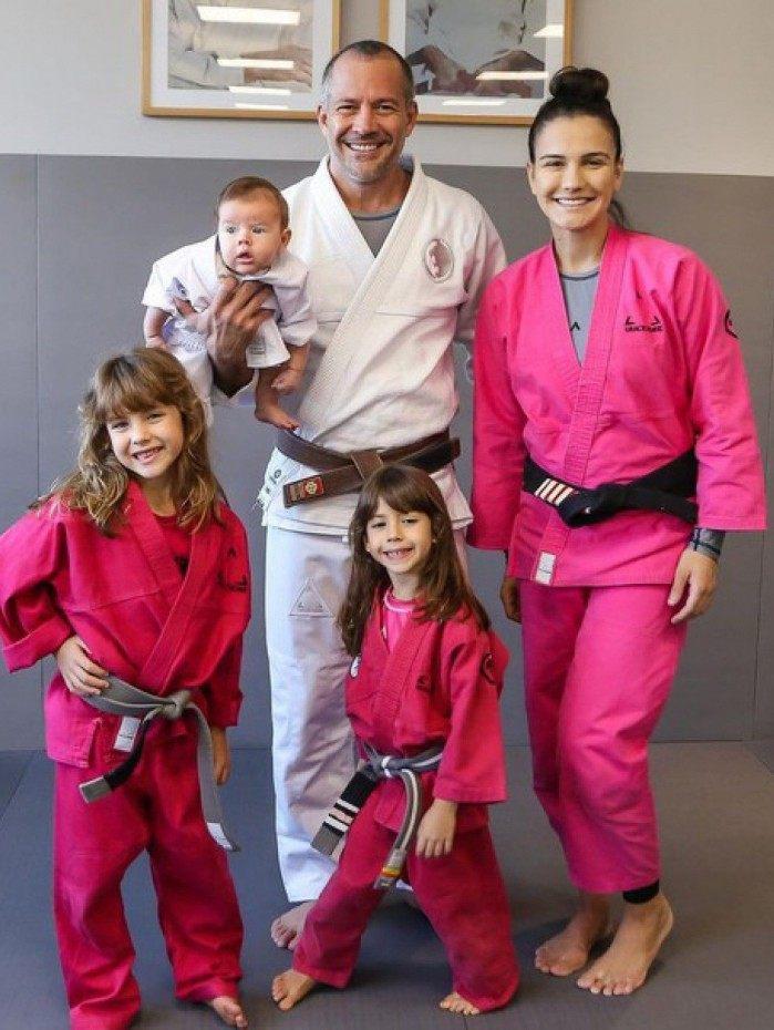 Kyra Gracie e a família