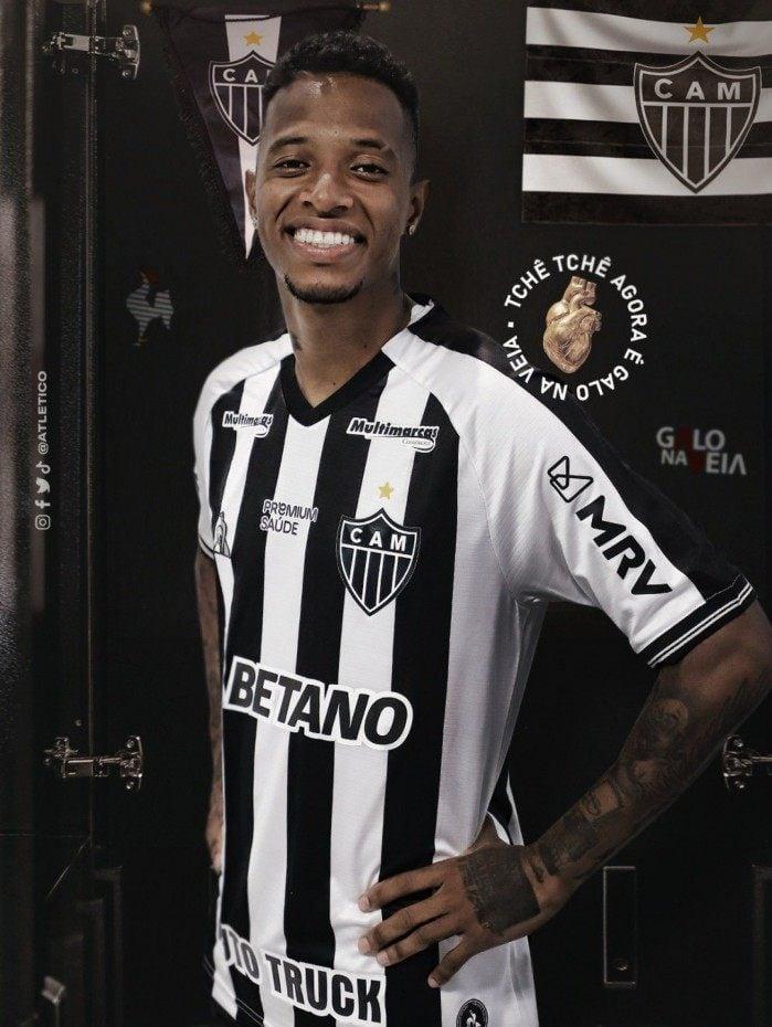 Tchê Tchê é a quarta contratação do Atlético-MG para a temporada