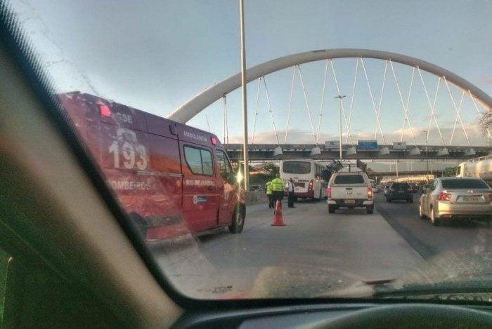 Atropelamento na Avenida Brasil
