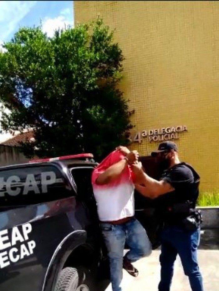 Criminoso foi capturado nesta quinta-feira