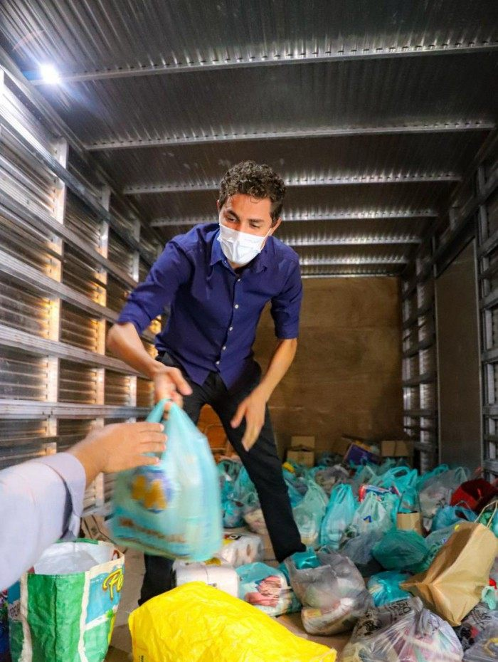 Salvino Oliveira, secretário da JUVRio, articulou a campanha 'Rio Contra a Fome'