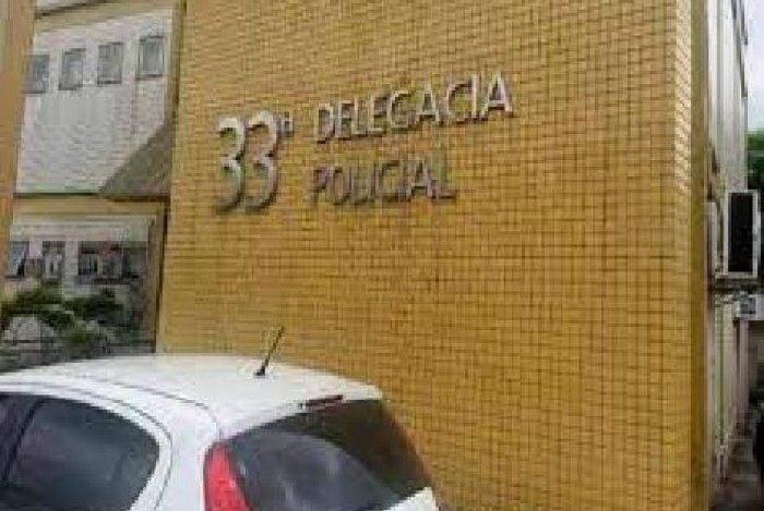 O caso foi registrado na 33ª DP (Realengo)