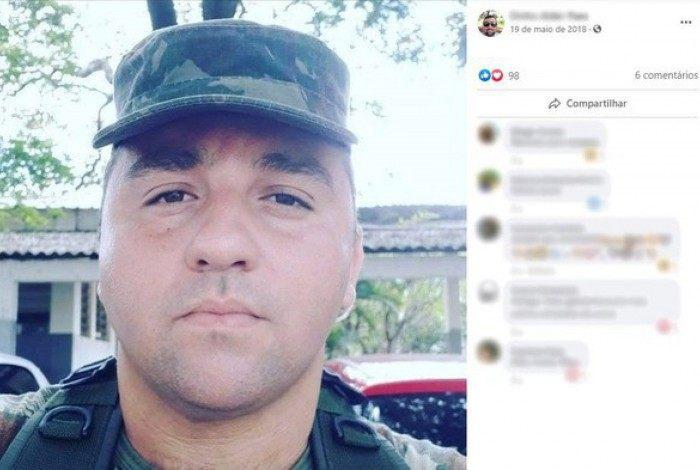 O sargento chegou a ser hospitalizado em São Paulo, mas não resistiu
