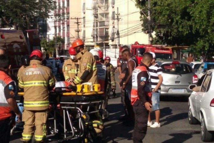 PM foi atropelado em Niterói