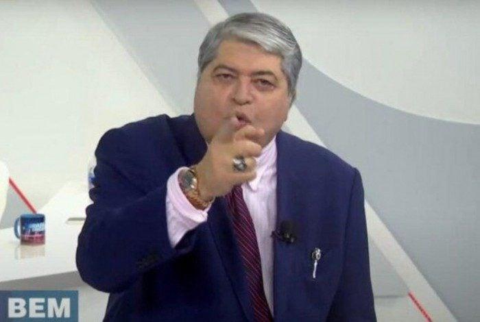 José Luiz Datena no 'Brasil Urgente'