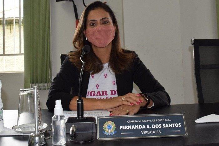 Vereadora Fernanda Emerenciano dos Santos (PDT)