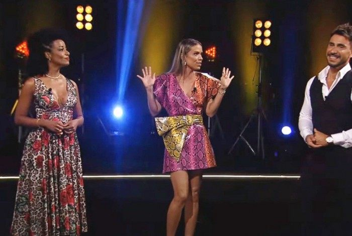 Alinne Prado, Ligia Mendes e Júlio Rocha