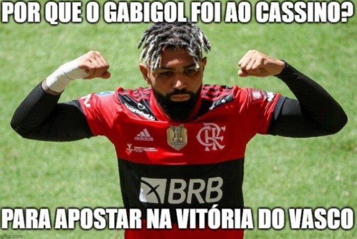 Memes: Vasco derrotou o Flamengo