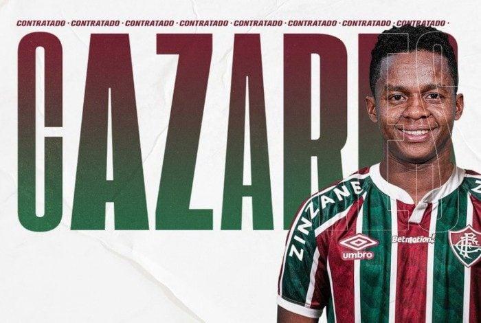 Cazares é mais um reforço do Fluminense