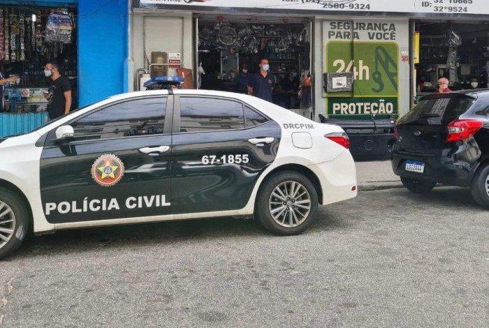 Ação aconteceu em São Cristóvão, na Zona Norte
