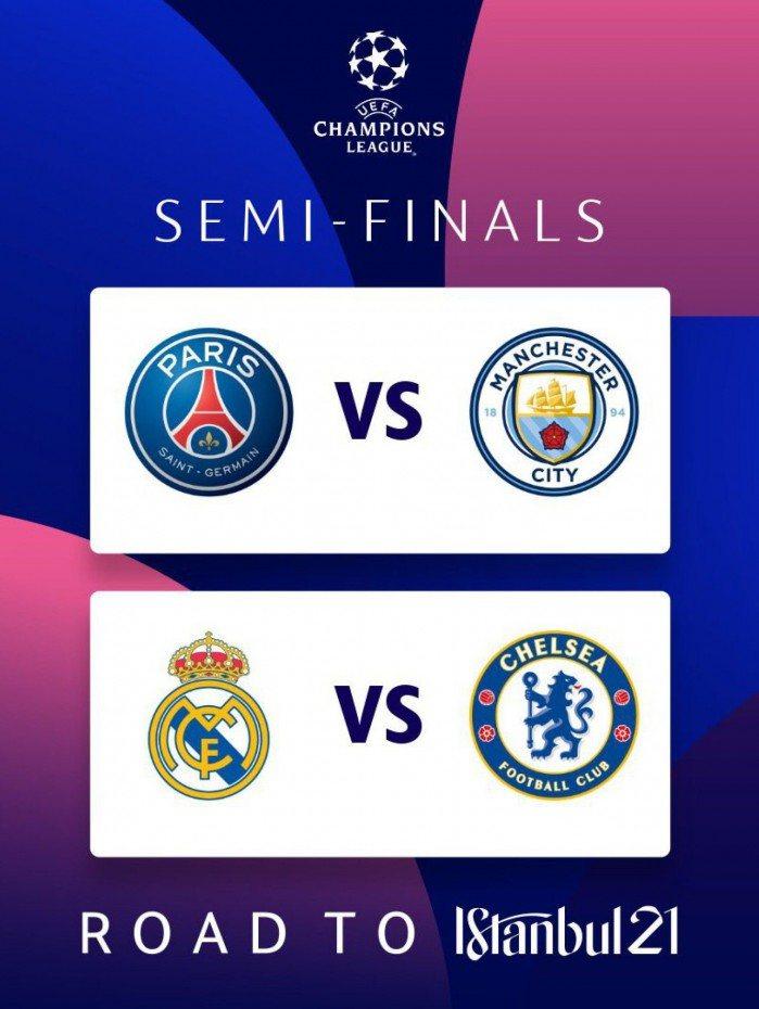 A princípio, a Uefa confirmou que os concorrentes poderão mandar os jogos em seus respectivos estádios