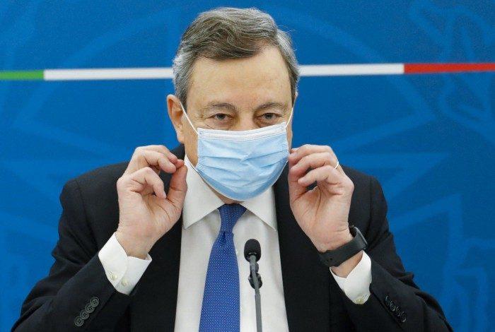 Chefe de governo da Itália, Mario Draghi