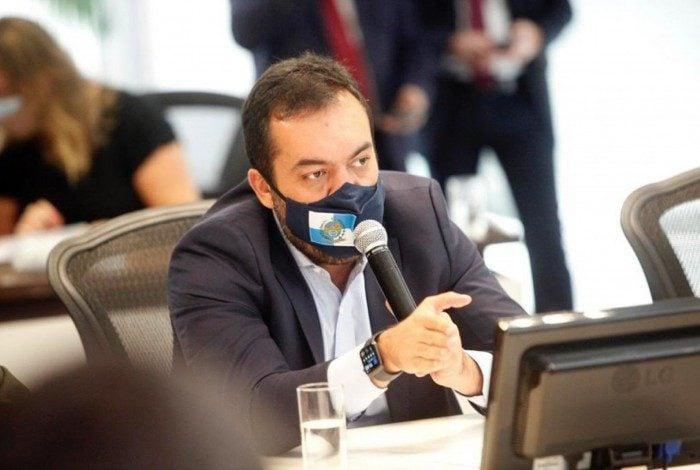 Governador Cláudio Castro. Reprodução/Twitter
