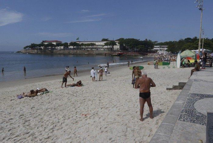 Na foto, Praia de Copacabana, Zona Sul do Rio