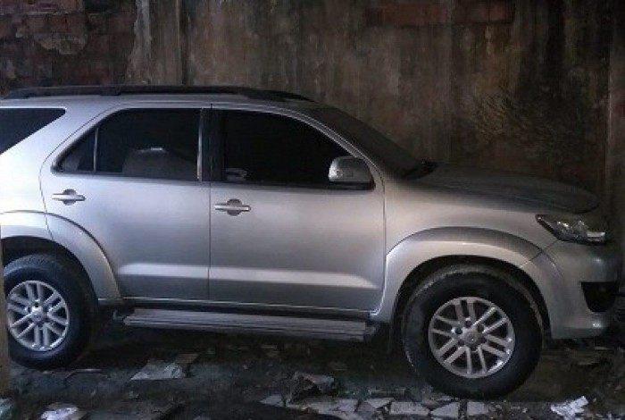 Automóvel encontrado foi roubado em fevereiro