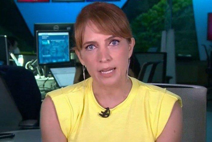 Poliana Abritta chama o intervalo comercial às pressas após falha técnica no 'Fantástico'