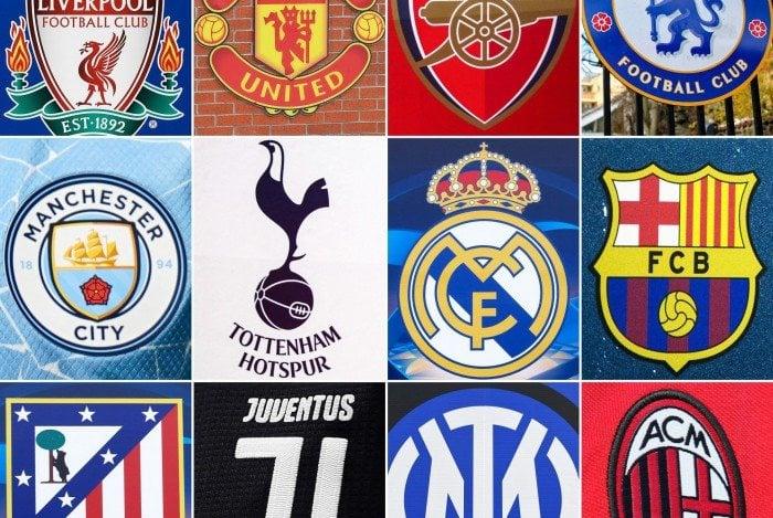 Doze dos clubes mais ricos do mundo se uniram para criar a Superliga