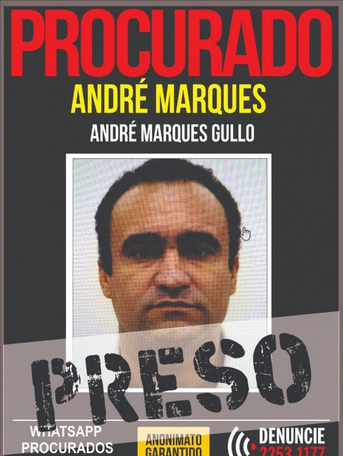 André Marcos já havia sido preso em 2019