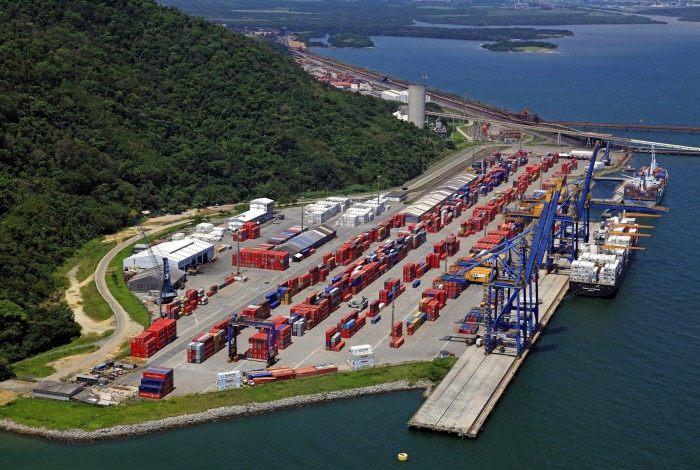 Porto de Itaguaí: crescimento notável em relação ao primeiro trimestre do ano passado, diz a administradora, Companhia da Docas