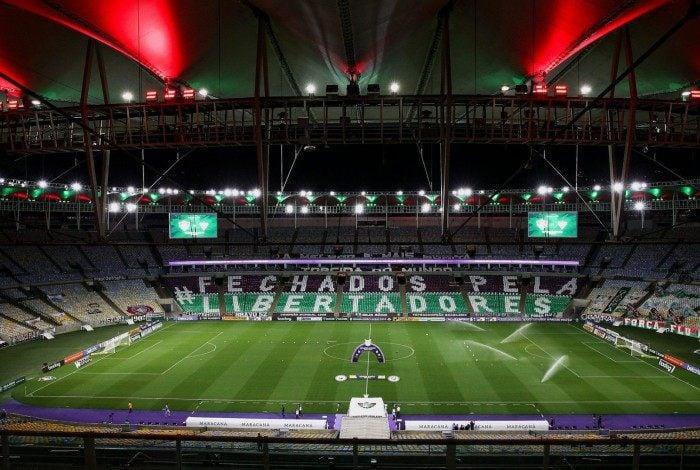 Mosaico feito pela torcida do Fluminense na última rodada do Brasileiro relembra o sonho pela Libertadores