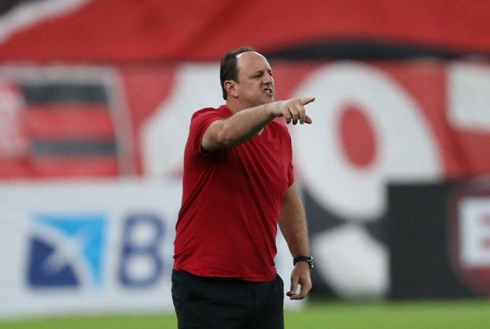 Flamengo x Volta Redonda pela 11 rodada do Campeonato Carioca 2021, no estádio do Maracanã. Rogério Ceni, técnico do Flamengo