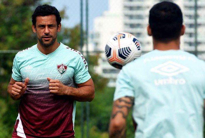 Fluminense realizou treino antes de viagem para a Colômbia