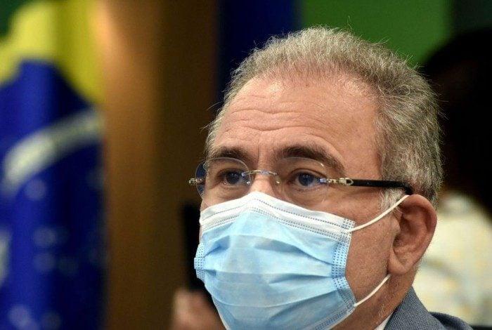 Nesta manhã, Queiroga participou da reunião do Comitê de Coordenação Nacional para Enfrentamento da Pandemia da Covid-19.