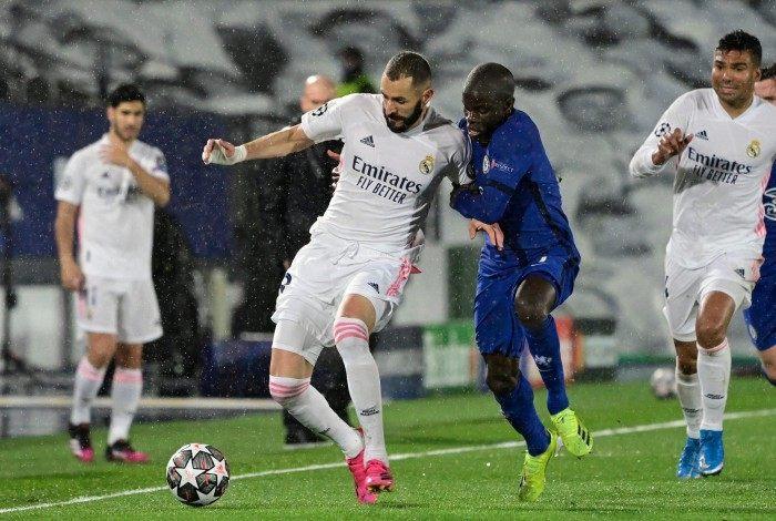 Real Madrid x Chelsea
