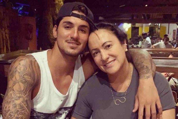 Gabriel Medina e a mãe, Simone