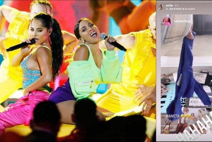 Anitta e Becky G colaboraram na música