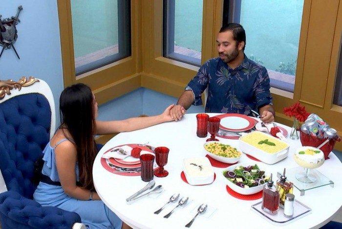 Juliette e Gil protagonizam momento emocionante no almoço do líder do