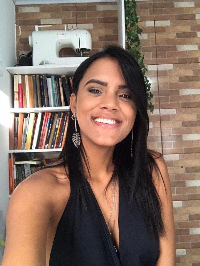 Pamella Oliveira, estudante de geografia da UFRJ e do +Nós