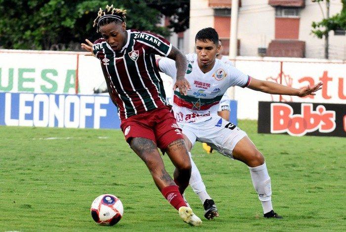 Fluminense x Portuguesa - Abel Hernandez