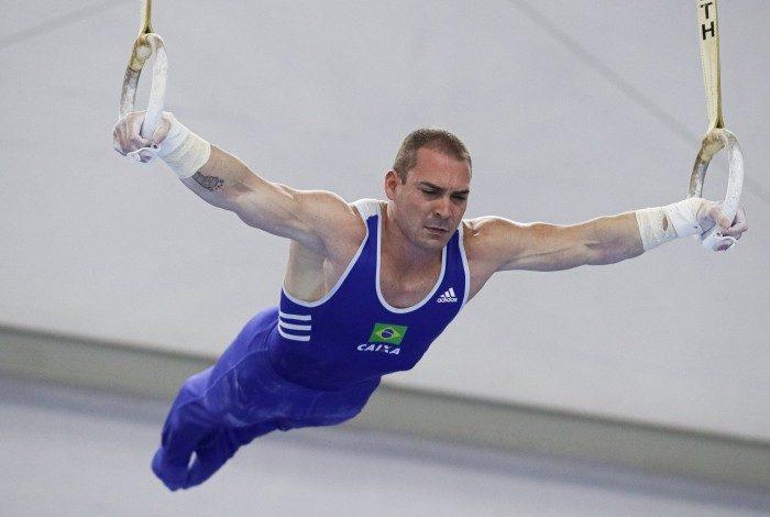 Campeão olímpico nos Jogos de Londres, em 2012, Arthur Zanetti, de 31 anos, buscará o bi na argola nos Jogos de Tóquio