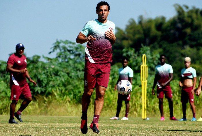 Fluminense realizou último treino antes de viagem para a Colômbia