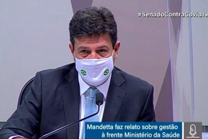 O ex-ministro da Saúde Luis Henrique Mandetta