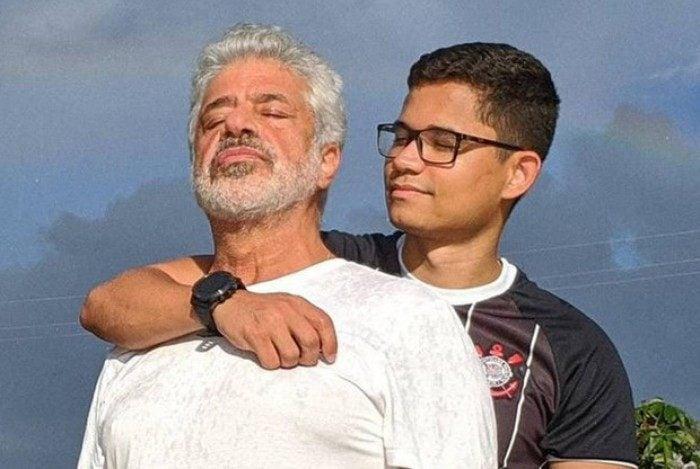 Lulu Santos completa 68 anos e ganha declaração de amor do marido, Clebson Teixeira