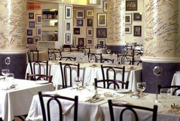 Restaurante La Fiorentina, no Leme, Zona Sul do Rio