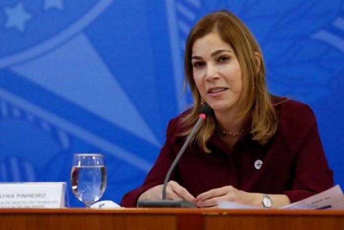 A secretária de Gestão do Trabalho e da Educação na Saúde do Ministério da Saúde, Mayra Pinheiro