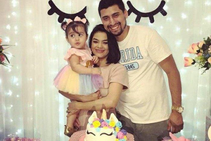 Natan, Maria Quiara e a filha