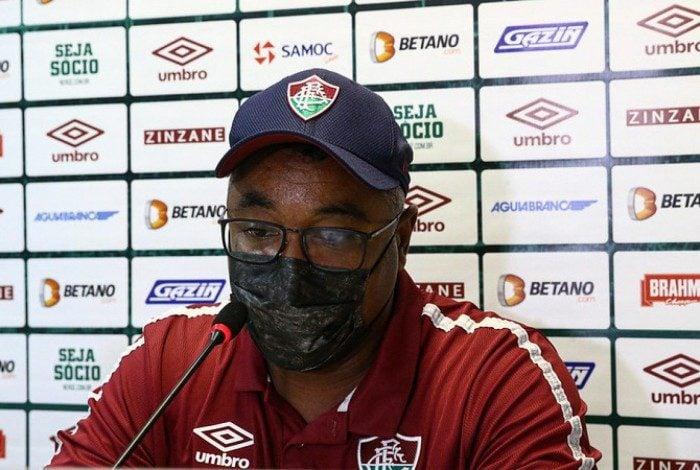 Roger Machado, técnico do Fluminense