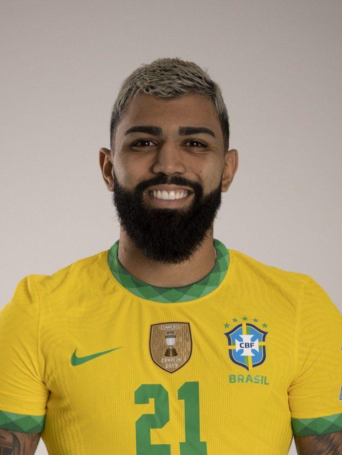 Gabriel Barbosa, o Gabigol, da seleção