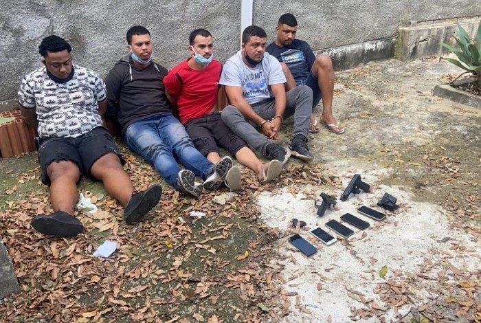 Grupo criminoso foi preso em Vila Valqueire