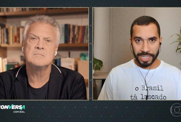 Gil do Vigor participa do Conversa com Bial