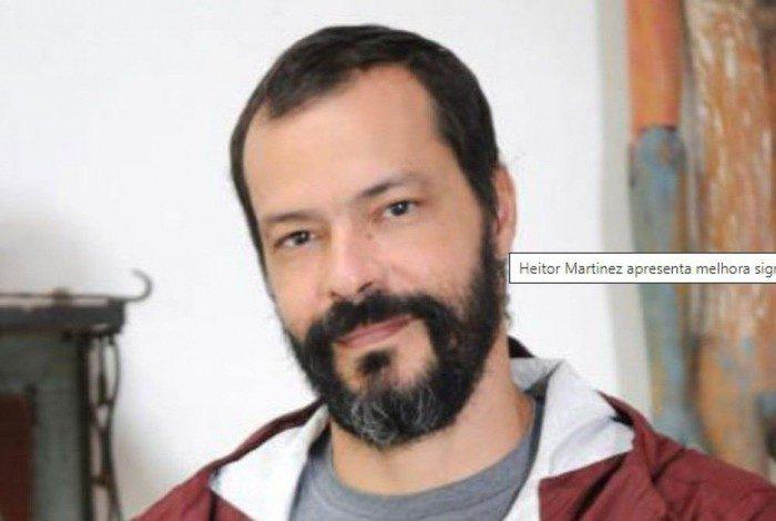 Heitor Martinez é vacinado contra a Covid-19